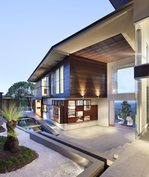 Must See Luxury Modern Residence With Breathtaking Views Of Glass House Luxury Modern Mountain Home Plans Picture