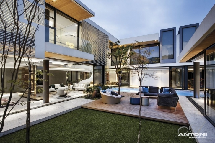 Must See Modern Mansion With Perfect Interiors By Saota - Architecture Beast South African Modern Houses Pictures Photo