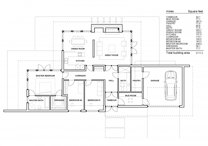 Must See Modern Single Story House Plans Modern House Modern Single Story In Modern Single Story House Floor Plans Pic