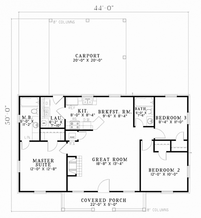 Must See Simple 3 Bedroom House Plans Without Garage Unique Simple 2 Story Simple 3 Bedroom House Plans Without Garage Pic