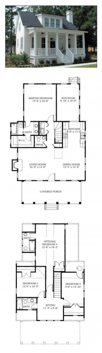 Outstanding 479 Best Small House Plans Images On Pinterest | Floor Plans, Home House Planning 16*50 Image