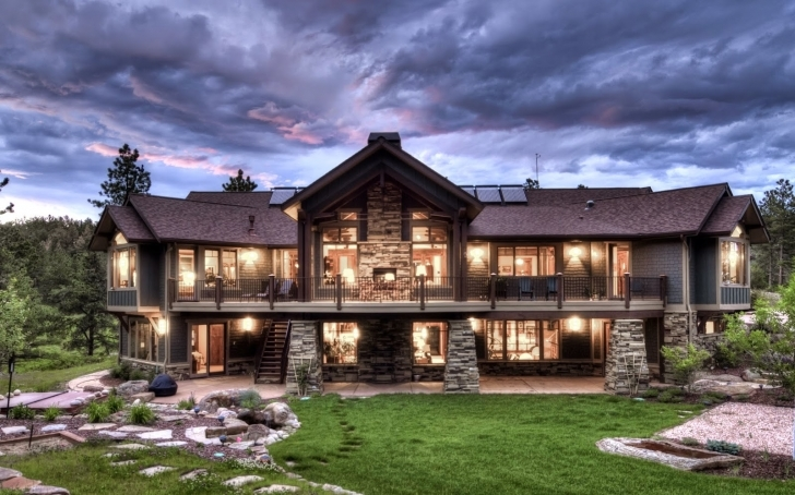 Outstanding Apartments : Ranch Style House Plans Bat Pool Bathroom Bedrooms Luxury Mountain Ranch Home Plans Pic