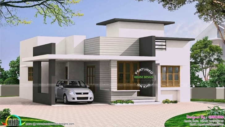 Outstanding Best Flat Roof House Design - Youtube Designs For Flat Roofed Houses Photo