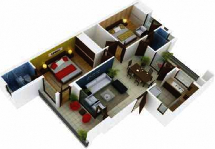 Outstanding Duplex House Plan And Elevation Sq Ft Home Appliance Ideas D 3D 1500 1500 Sq Ft House Plans 3D Photo