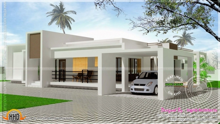 Outstanding Elevations Of Single Storey Residential Buildings - Google Search Home Elevation Single Floor Modern Pic