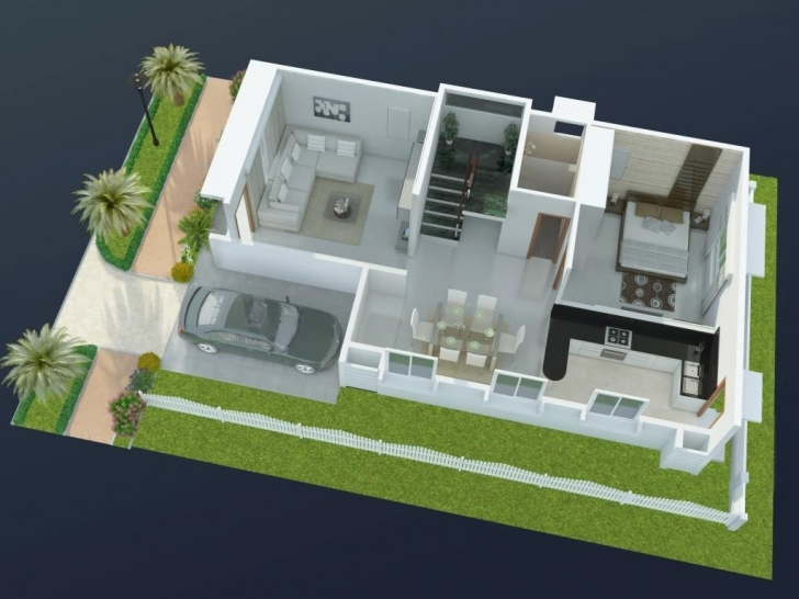 Outstanding Famous Duplex House Floor Plans Indian Style — House Style And Plans 20*30 House Plan Images 3D Image