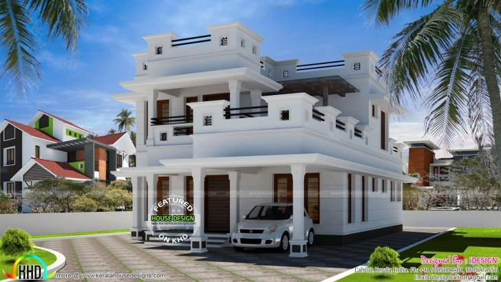 Outstanding February 2017 - Kerala Home Design And Floor Plans 20 Feet Of Stylish House Full Hd Photo Image