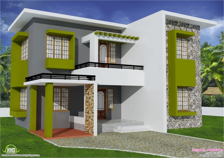 Outstanding Feet Flat Roof Home Design House Plans - Building Plans Online   #40889 Indian House Photo Gallery Download Picture