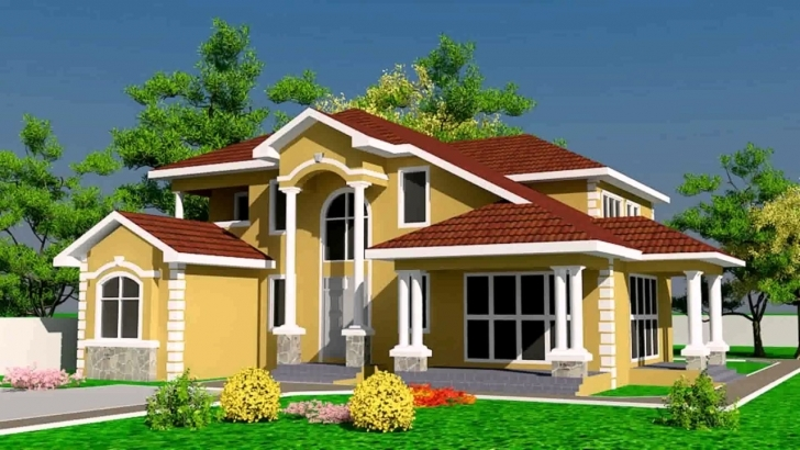 Outstanding House Designs And Floor Plans Ghana - Youtube Ghana House Plans Pic