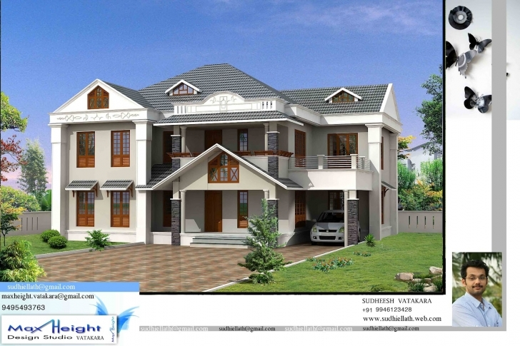 Outstanding Kerala House Model Latest Style Home Design - Building Plans Online Latest House Model Pic
