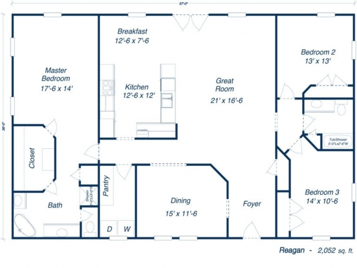 Outstanding Plans Furthermore 30 X 50 House Floor Plans Besides Barndominium F 21 By 50 Floor Plans Photo