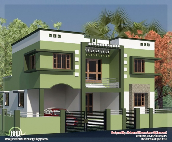 Outstanding Tamilnadu Model House Photos - Homes Floor Plans Tamil Small House Model Photos Picture
