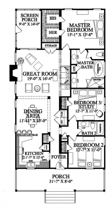 Picture of 26 Best Small/narrow Plot House Plans Images On Pinterest | Small House Plan For Half Plot Of Land Picture