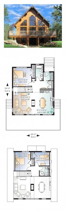 Picture of 51 Best A-Frame House Plans Images On Pinterest   Architecture A Frame House Plans With Loft Pic
