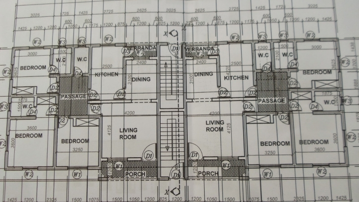 Picture of Building Plans For 3 Bedroom Flats In Nigeria   Amazing Viewpoints Building Plan For 4 Bedroom Flat Picture