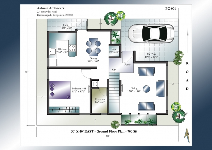 Picture of Home Plan East Facing New 30 X 40 House Plans East Facing House Plan 30 40 House Plans East Facing Duplex Image