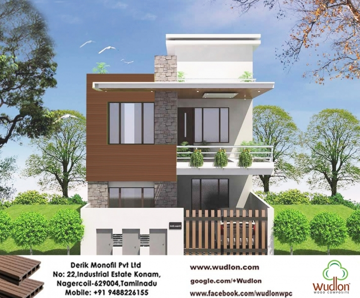 Picture of Latest Front Elevation Of House Models. Front Elevation Of Single 16 Feet Foront Picture