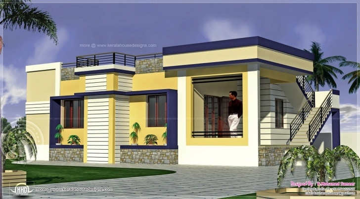 Picture of Tamil-Nadu-House-Plans-1000-Sq-Ft-L-373Ca2E589F80Dea (1600×888 Tamil Nadu Small House Images Pic