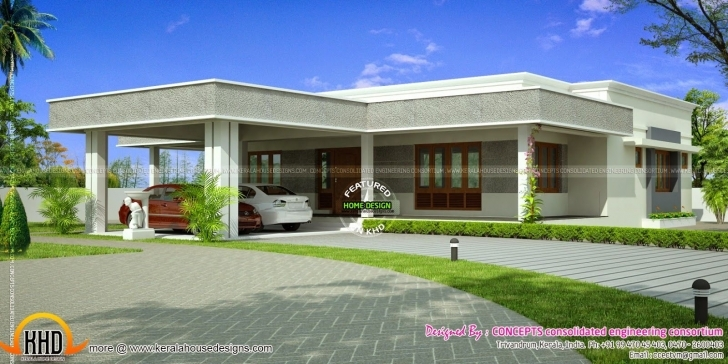 Popular Amazing Flat Roof Modern Plans Home House Design Luxury Pict Of Designs For Flat Roofed Houses Photo