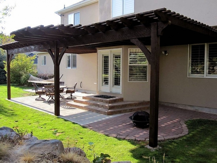 Popular Attached Pergola Designs For Shade – Thedigitalhandshake Furniture Pergola Designs Attached To House Picture