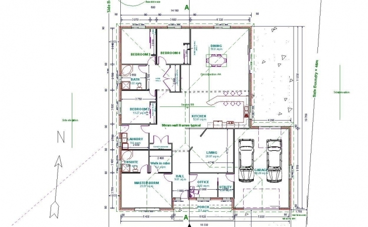 Popular Autocad House Plans Lovely Autocad 2D Floor Plan Projects To Try Autocad 2D House Image