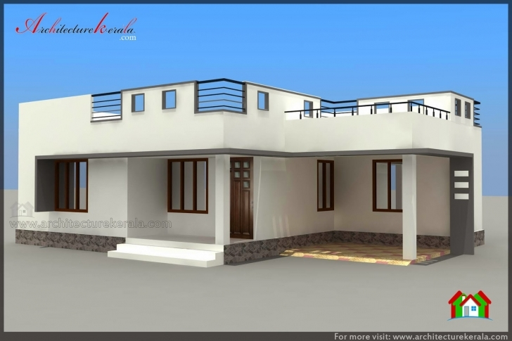 Popular Below 1000 Square Feet House Plan And Elevation - Architecture Kerala Below 1000 Sq Ft House Plans Indian Style Image