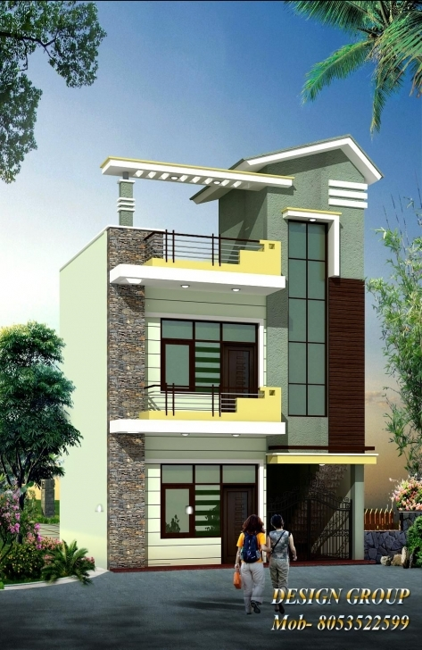 Popular Front Elevation   Home   Pinterest   House, Exterior Design And 16 Feet House Front Elevation Image