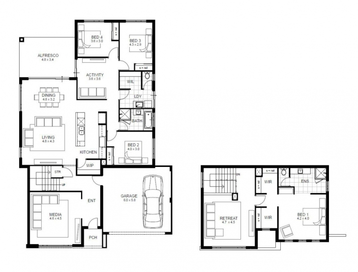 Popular Home Design: Bedroom House Designs Perth Double Storey Apg Homes 20 20*50 Plot Home Design Picture