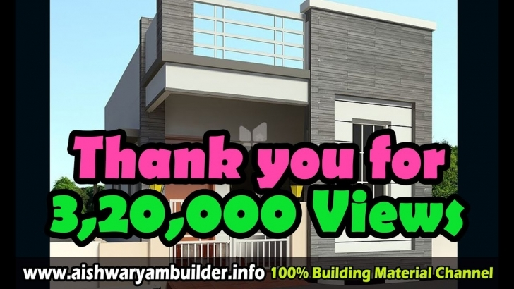 Popular Home Designs 60 - House Decorating Ideas, House Elevation 60 - Youtube 15×50 Front House Design Image Image