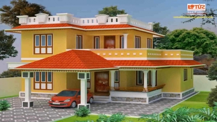 Popular Kerala Style Low Cost House Plans - Youtube Low Cost Kerala Housing Plans Picture