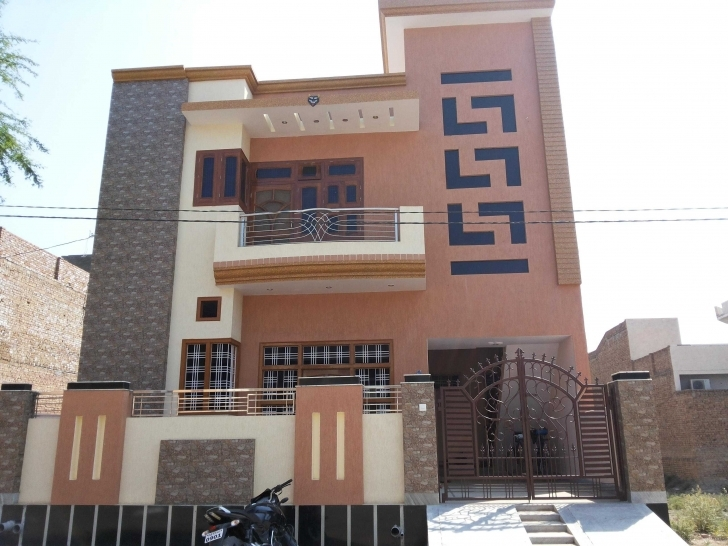 Popular Single Floor House Front Wall Tiles Designs Plans Story Design In Home Front Design Tiles Image