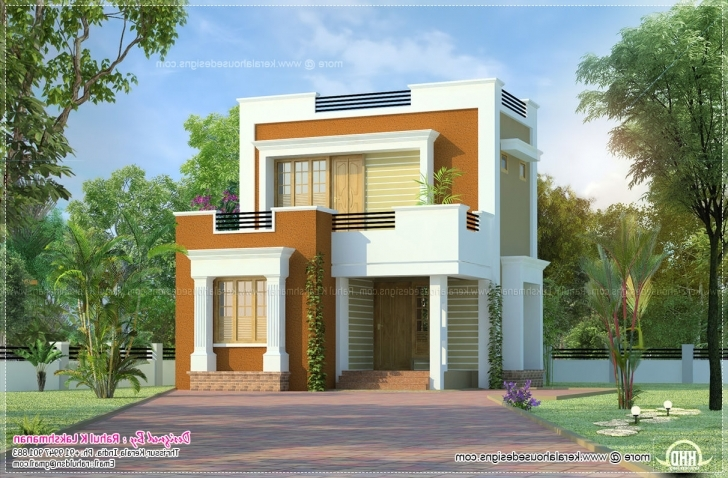 Popular Small House Flat Roof Flat Roofed Small House - House Design And Small Flat Roofed Houses Photo
