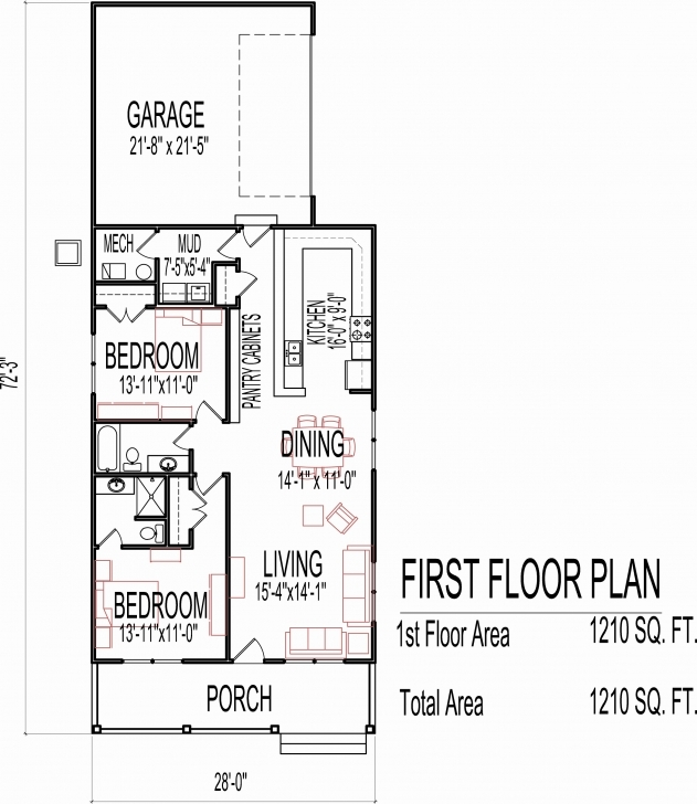 Popular Small Single Story House Plans Luxury Simple Small House Floor Plans Small Single Story House Floor Plans Picture