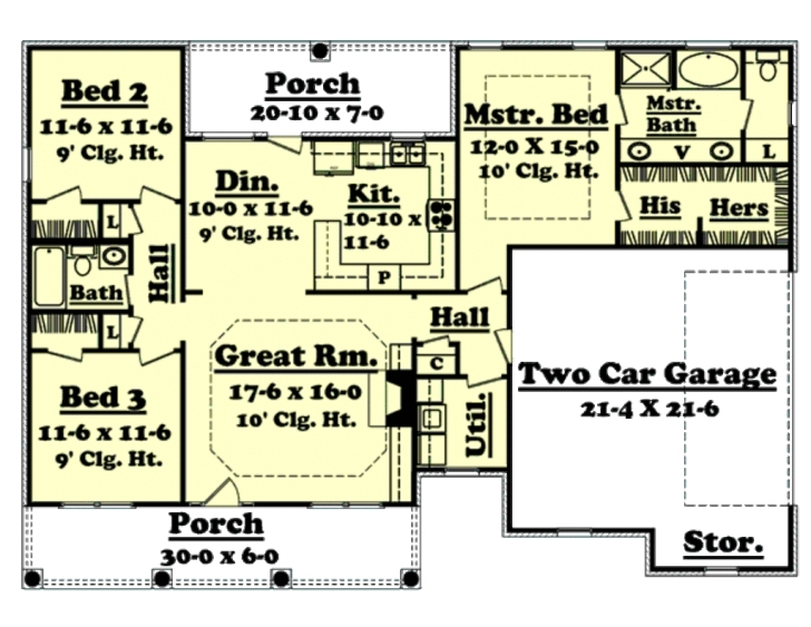 Remarkable 1500 Square Feet Simple 20 Best Of 1500 Sq Ft Ranch House Plans 1Blw 1500 Sq Ft House Designs Picture