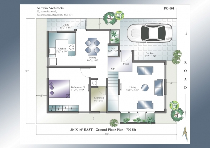 Remarkable 30 40 Duplex House Plans With Car Parking - Ideas House Generation 30 40 Duplex House Plans With Car Parking East Facing Picture