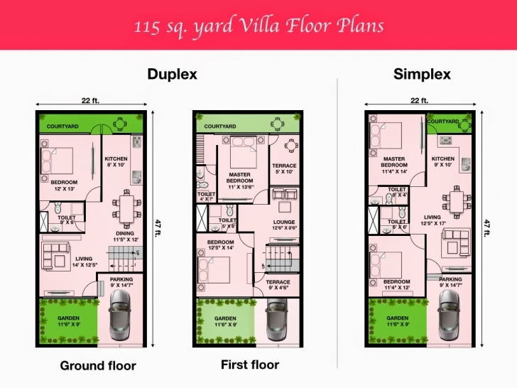 Remarkable 96+ House Design 15 X 30 - House Plan For 15 Feet By 50 Plot Size 83 15*50 Duplex House Plan Image