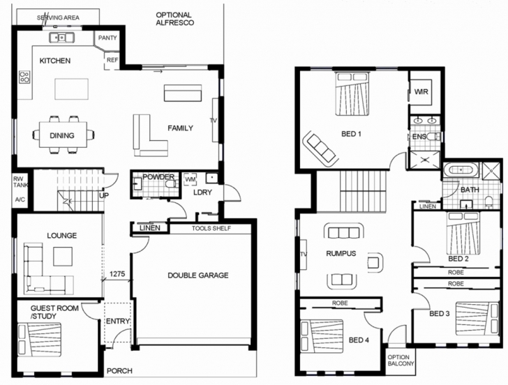 Remarkable Double Storey House Plans In Polokwane Awesome Simple Double Storey Double Storey House Plans In Limpopo Photo