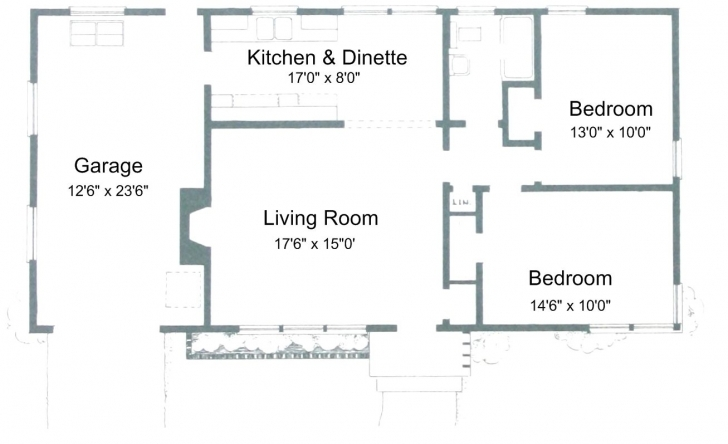Remarkable Free Small House Plans For Ideas Or Just Dreaming Best Home Image 6 Room 1 Toilet Image