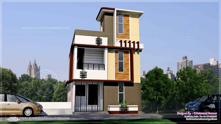 Remarkable House Design In 50 Gaj - Youtube 15*50 House Front Elevation Image