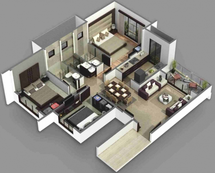 Remarkable Nikurarhnikuraco D 3 Bedroom House Plans In Kerala Single Floor 3D 3D 3 Bedroom House Plans Photo