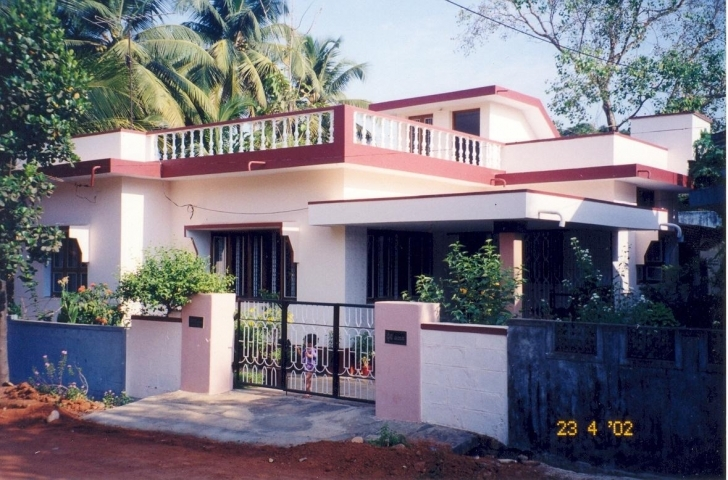 Remarkable Outside Colour Of Indian House - Interior For House : Interior For House Indian Exterior House Paint Colors Photo Gallery Image