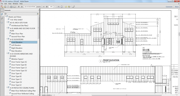 Remarkable Pdf Enhancements In Autocad 2016 | Autocad Blog Civil 2D Drawing In Autocad Image