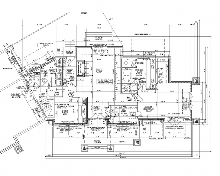 Splendid 2D Autocad House Plans Residential Building Drawings Cad Services Architecture Autocad Drawing Picture