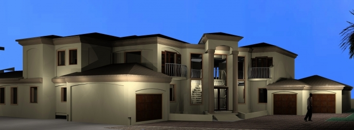 Splendid 4 Bedroom House Plans In Gauteng Inspirational Tuscan Double Story Double Story House Plan In South Africa Picture