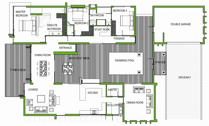 Splendid 60 Inspirational Collection 3 Bedroom House Plans With Double Garage 3 Bedroom House Plans With Double Garage In South Africa Picture