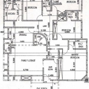 4 Bedroom House Floor Plans With In Abuja