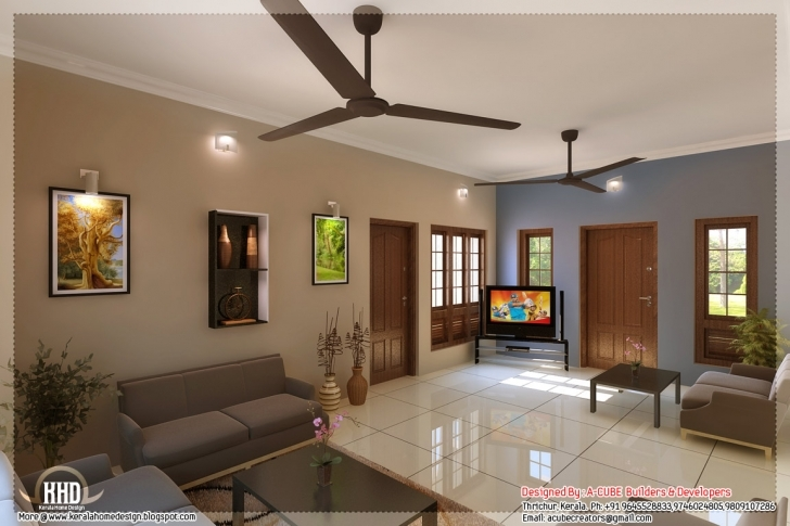 Splendid Ideas Simple Hall Designs For Indian Homes Kerala Style Home Indian Small House Interior Designs Photos Pic