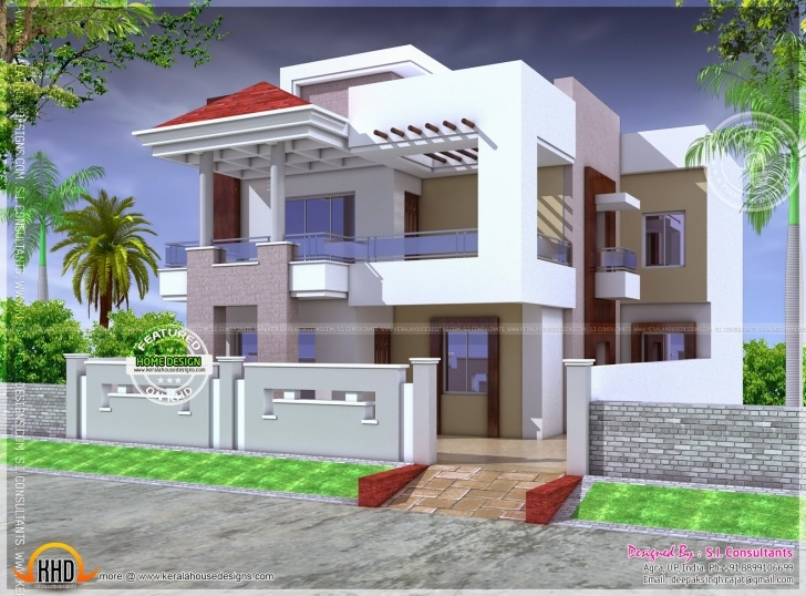 Splendid Nice Modern House Floor Plan Indian Plans - Dma Homes | #10280 Small House Plans In South Indian Style Pic