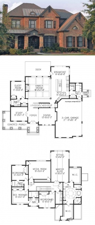 Splendid Traditional House Plan With 3962 Square Feet And 5 Bedrooms From 5 Bedroom Dormer Bungalow Plans Picture