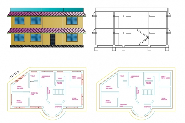 Stunning 28+ Collection Of Autocad Civil Engineering Drawing | High Quality Civil 2D Drawing In Autocad Pic